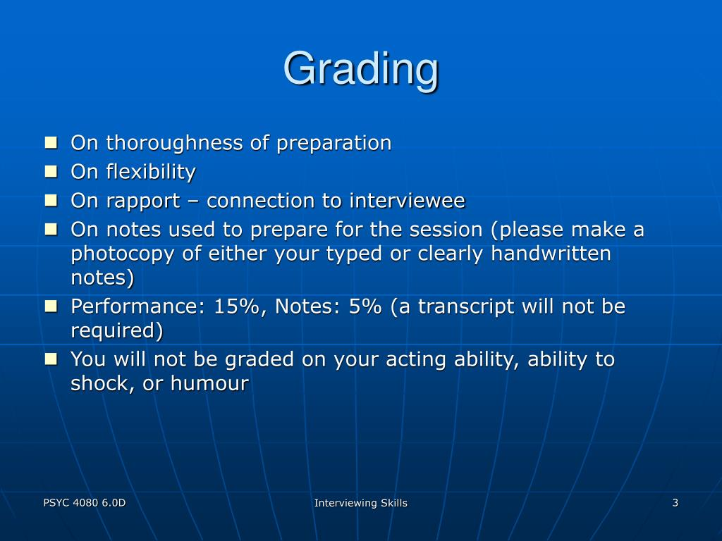 Grading