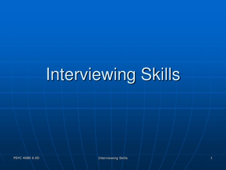 Interviewing skills l.jpg