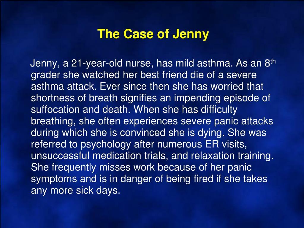 The Case of Jenny