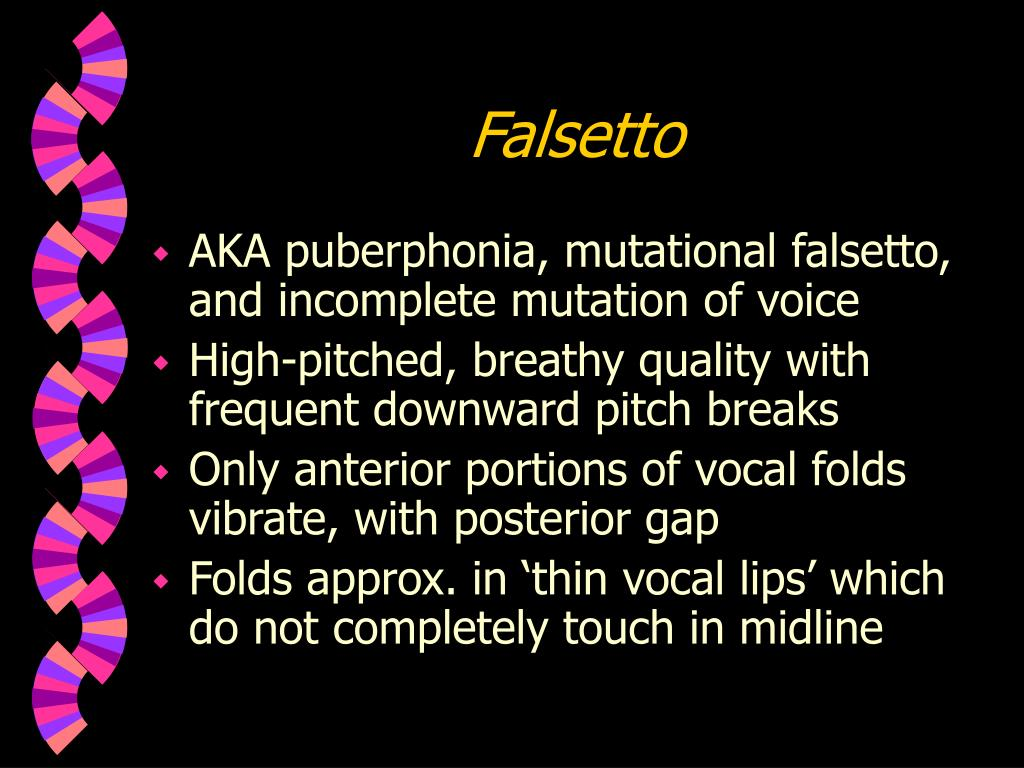 Falsetto