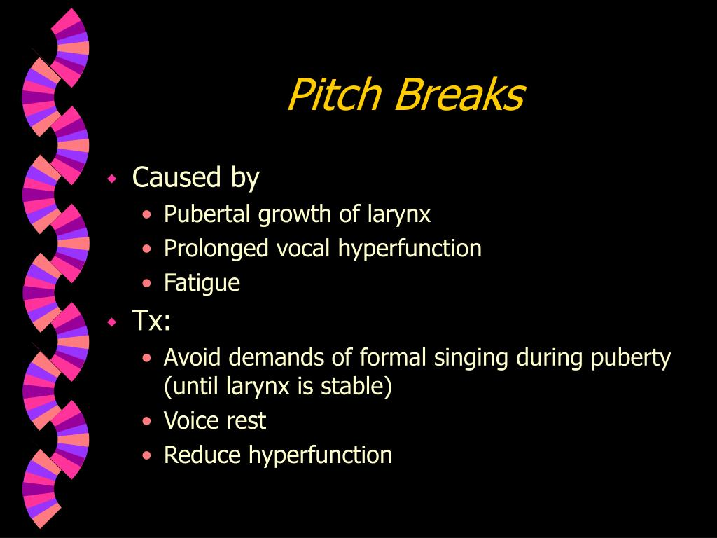 Pitch Breaks