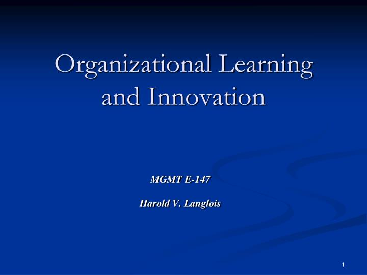organisational innovation Of organisational change and innovation, as well as to foster creative thinking about how public policies can stimulate the development and diffusion of innovative organisational practices.