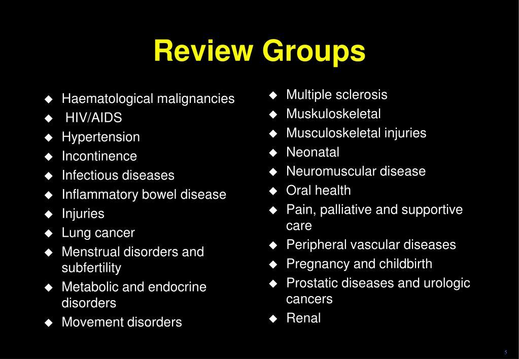 Haematological malignancies