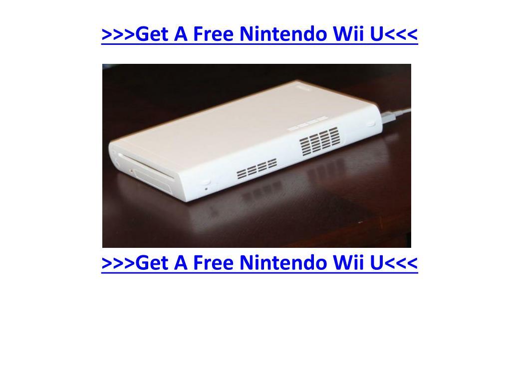 >>>Get A Free Nintendo