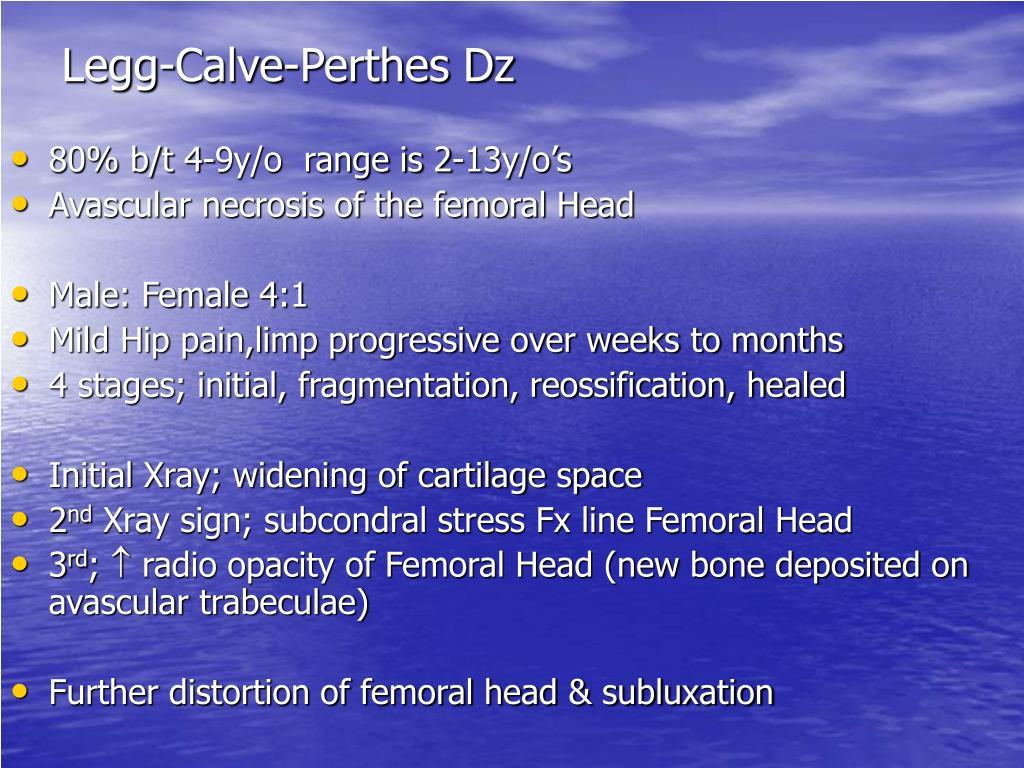 Legg-Calve-Perthes Dz