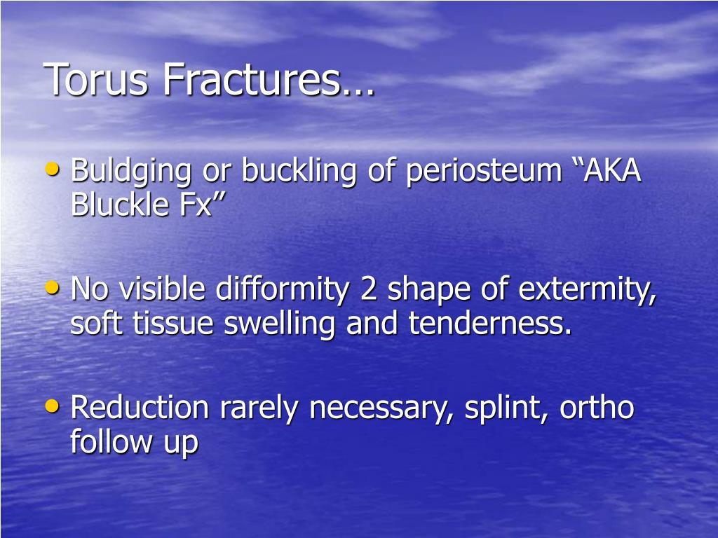 Torus Fractures…