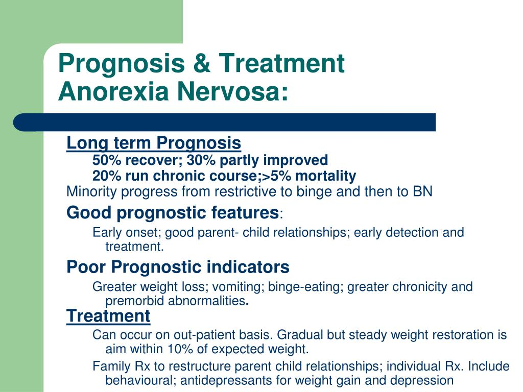 Prognosis & Treatment