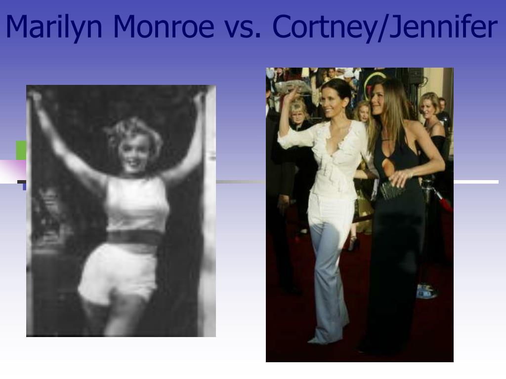 Marilyn Monroe vs. Cortney/Jennifer