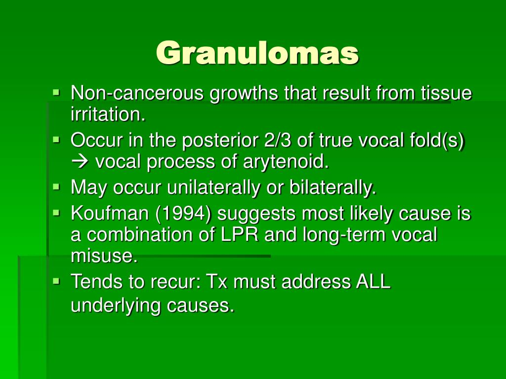 Granulomas