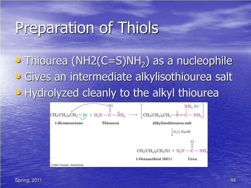 Ppt Organic Chemistry Ii Alcohols Phenols Thiols