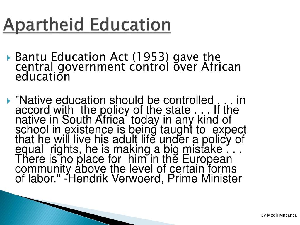 an overview of the history of apartheid in africa Why is south african history important  event history overview: south africa's political history i  anc/popular views of black history from apartheid to.