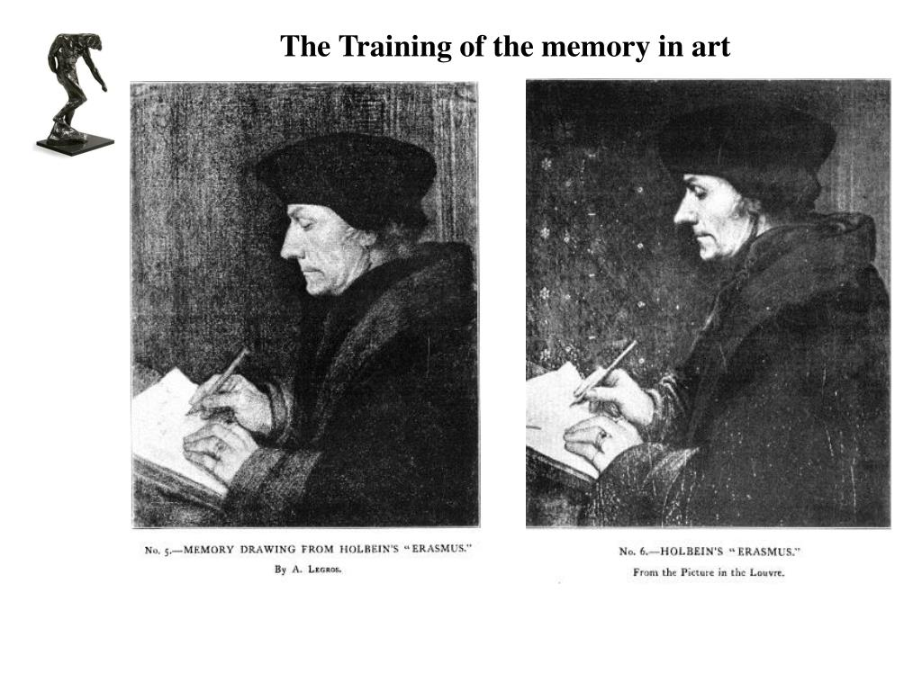 The Training of the memory in art