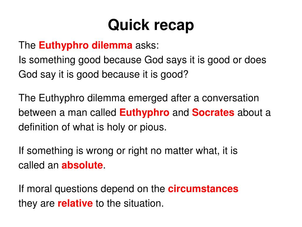 an analysis of the dialogue between euthyphro and socrates In the euthyphro, socrates and euthyphro discuss the concept of piety/holiness this essay will not only test your ability to recognize and engage philosophical concepts and analysis, but.