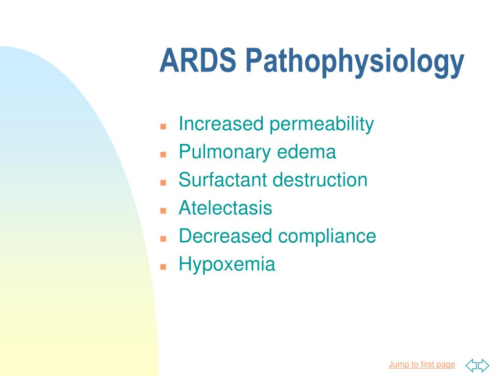 ARDS Pathophysiology