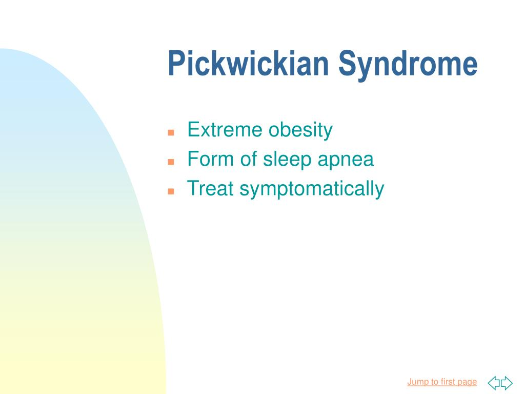Pickwickian Syndrome