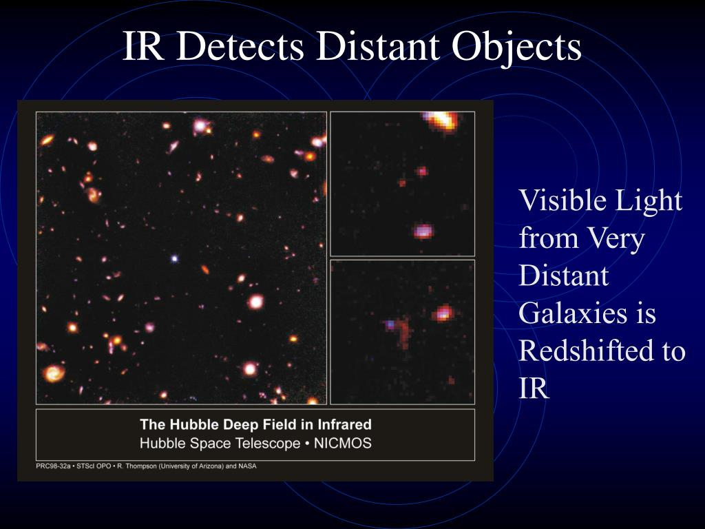 IR Detects Distant Objects
