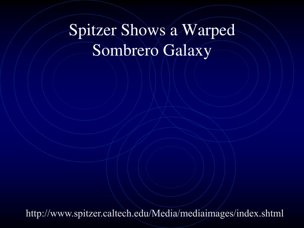 Spitzer Shows a Warped