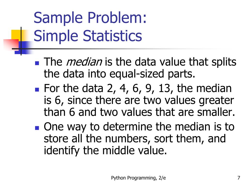 statistics problem sample In your statistics class, your professor made a big deal about unequal sample  sizes in one-way analysis of variance (anova) for two reasons 1 because she .