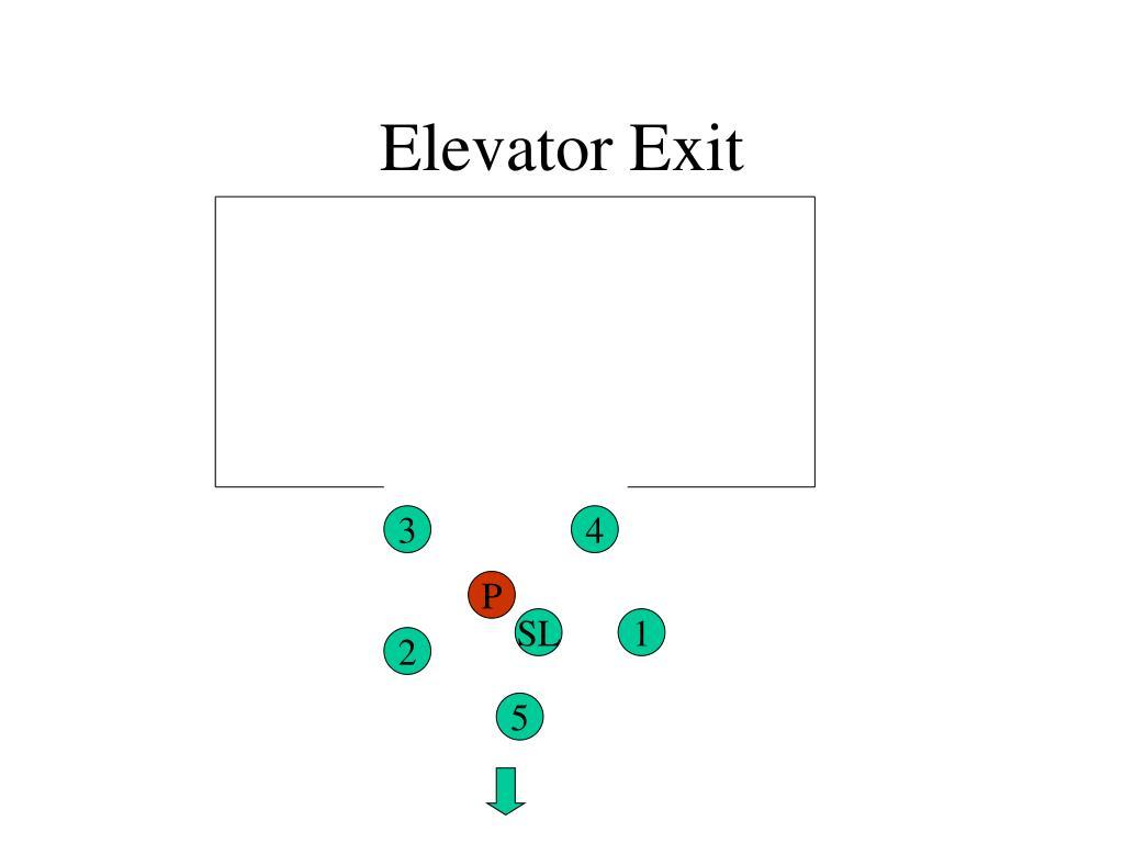 Elevator Exit