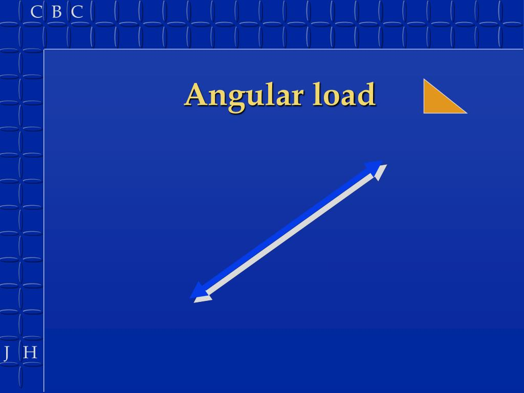 Angular load