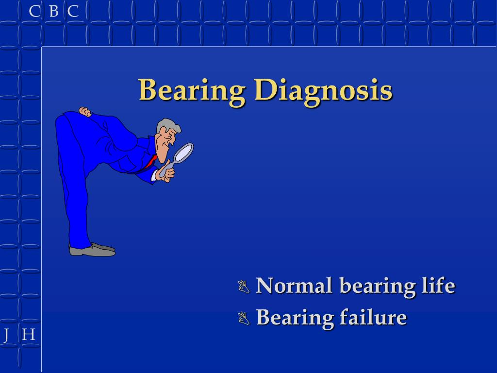 Bearing Diagnosis