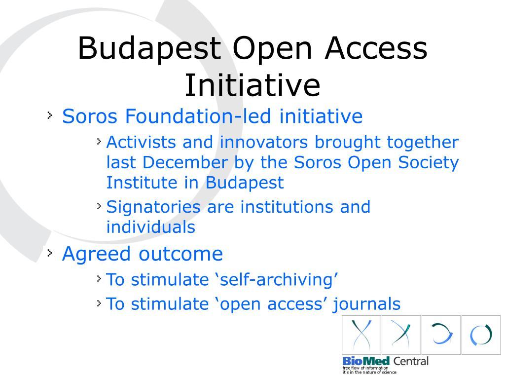 Budapest Open Access Initiative