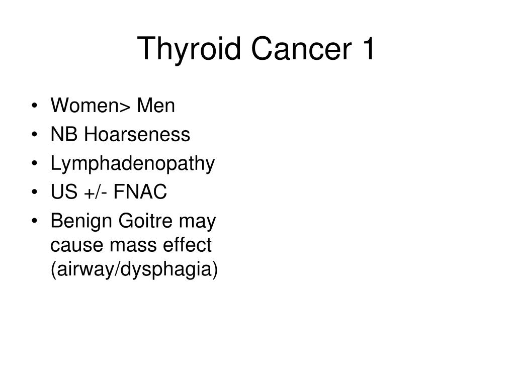 Thyroid Cancer 1