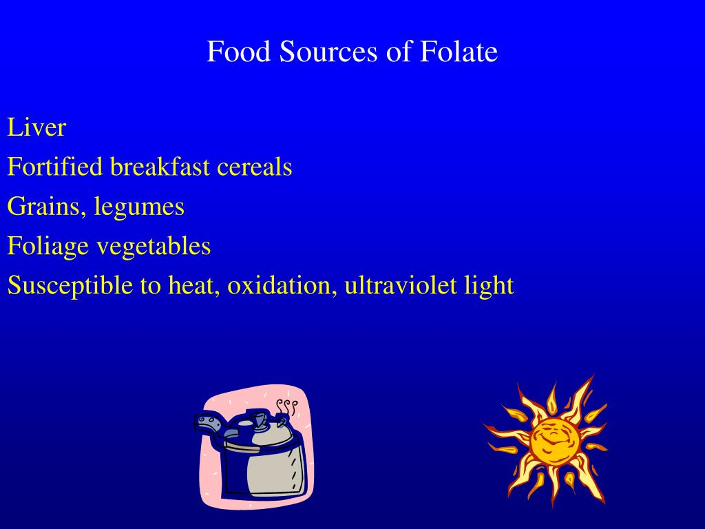 Food Sources of Folate
