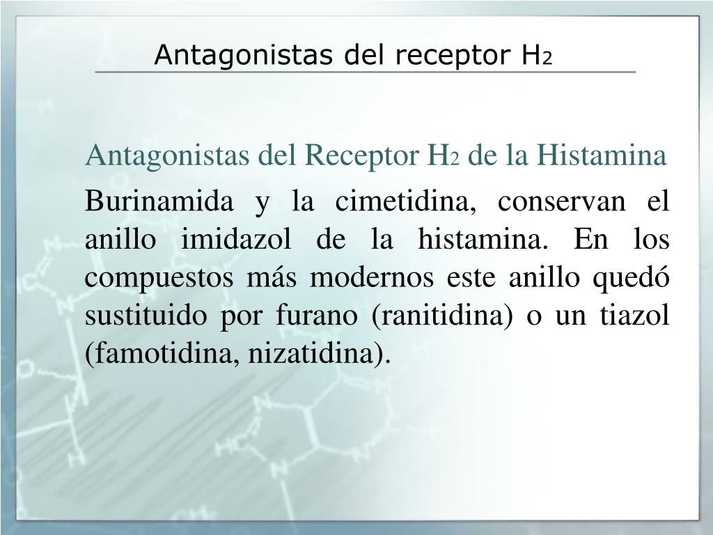 Antagonistas del receptor H