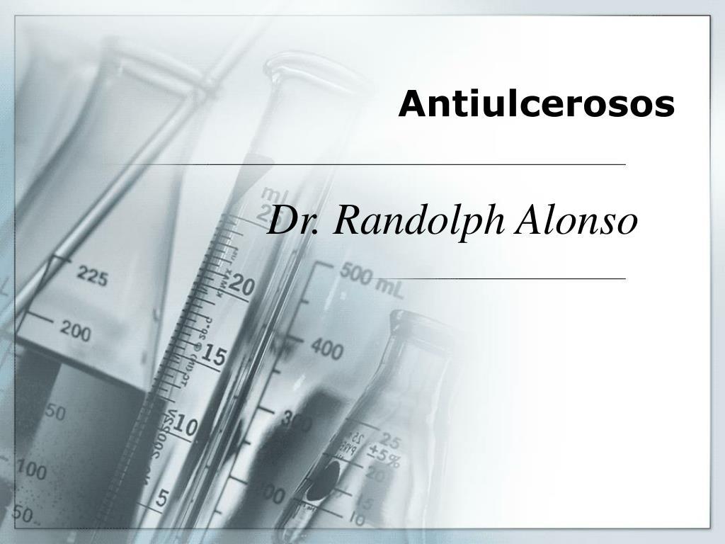 Antiulcerosos