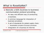what is rosettanet