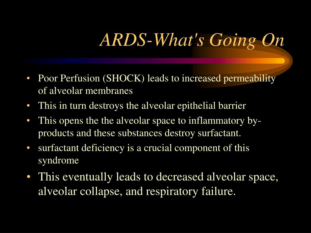 ARDS-What's Going On