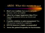 ards what this means to you39
