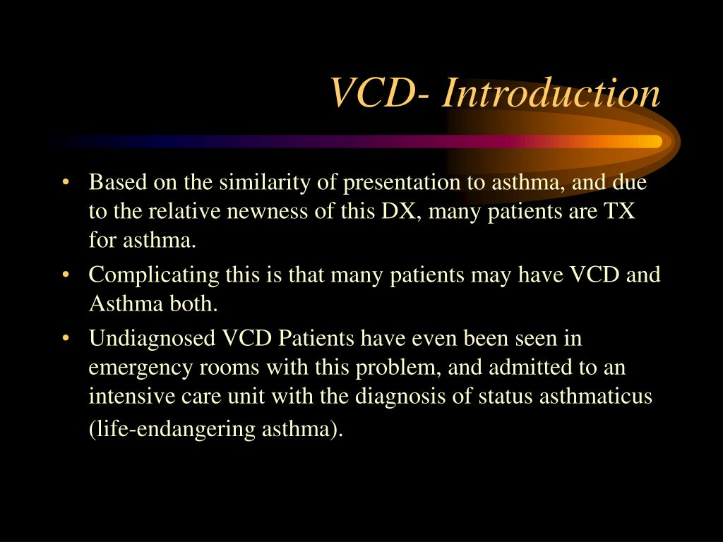 VCD- Introduction