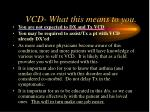 vcd what this means to you