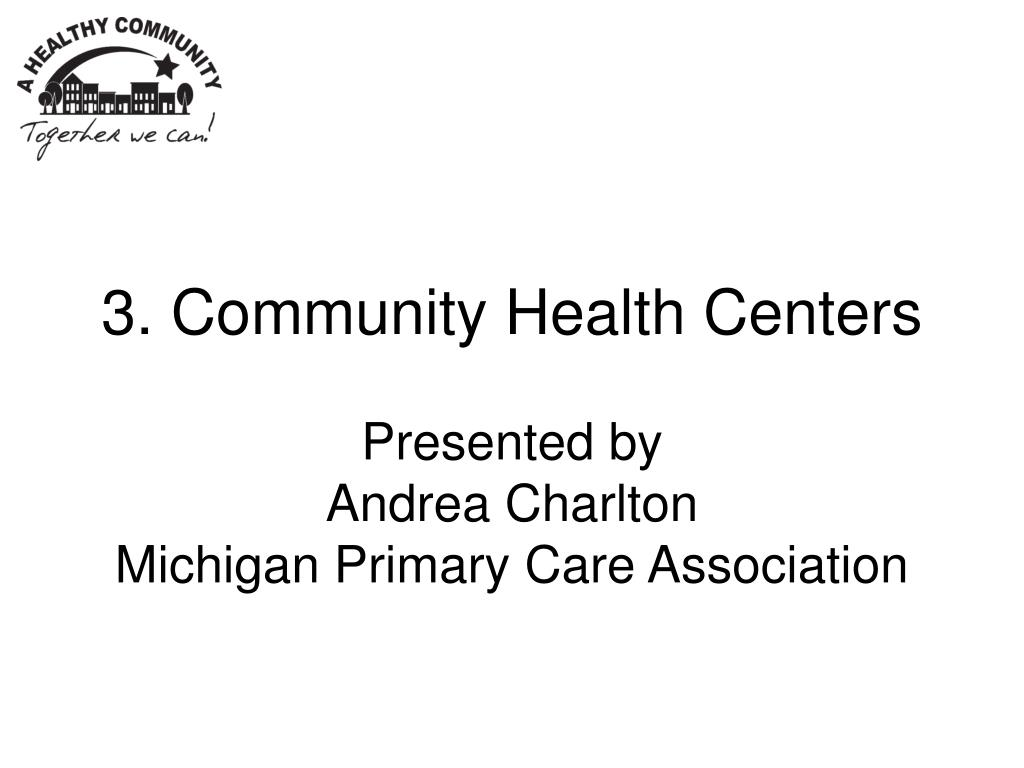 3. Community Health Centers