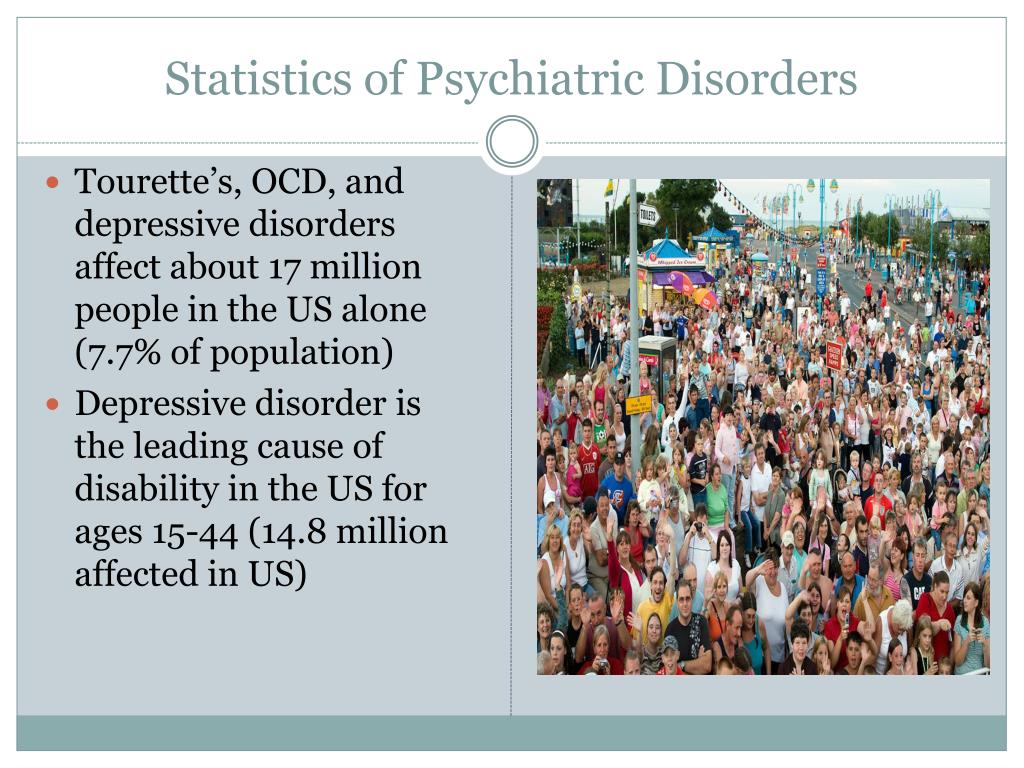 Statistics of Psychiatric Disorders