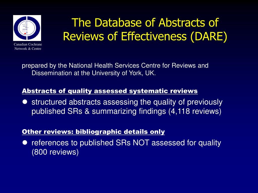 Canadian Cochrane Network & Centre