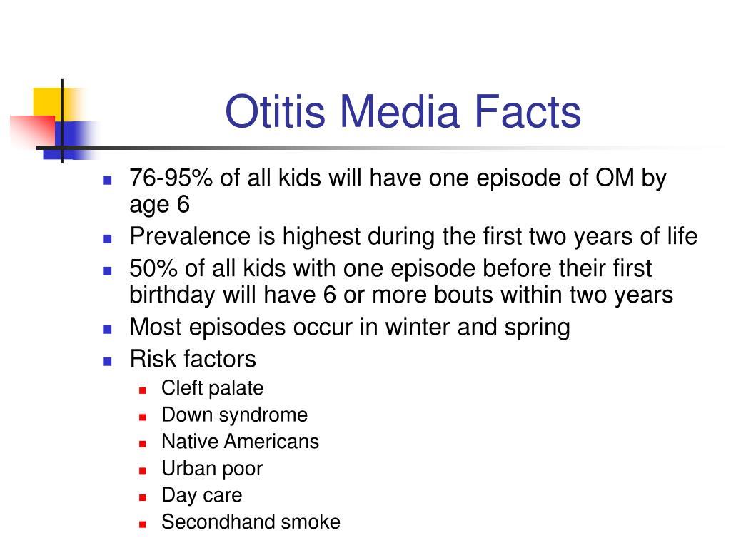 Otitis Media Facts