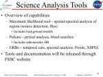science analysis tools