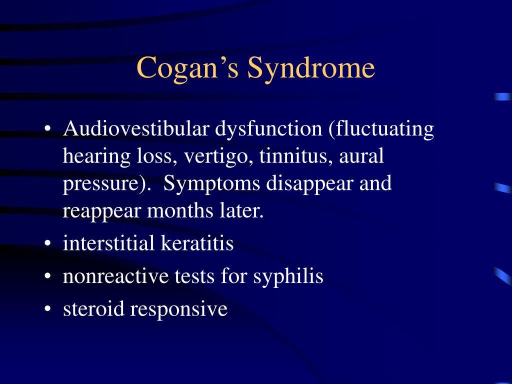 Cogan's Syndrome