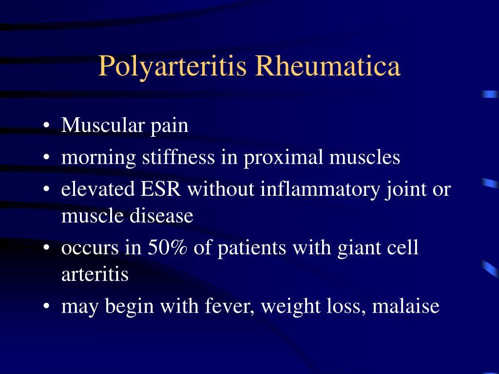 Polyarteritis Rheumatica