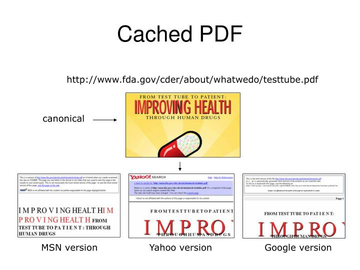 Cached PDF