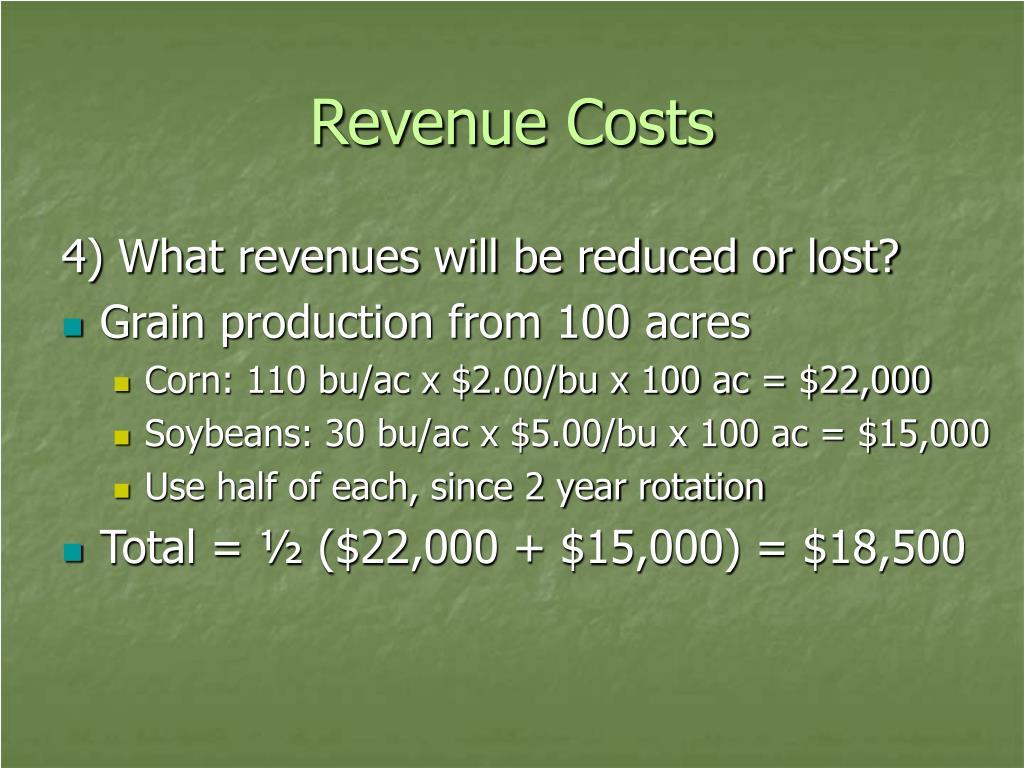 Revenue Costs