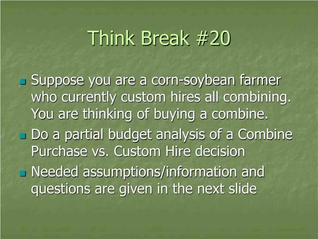Think Break #20