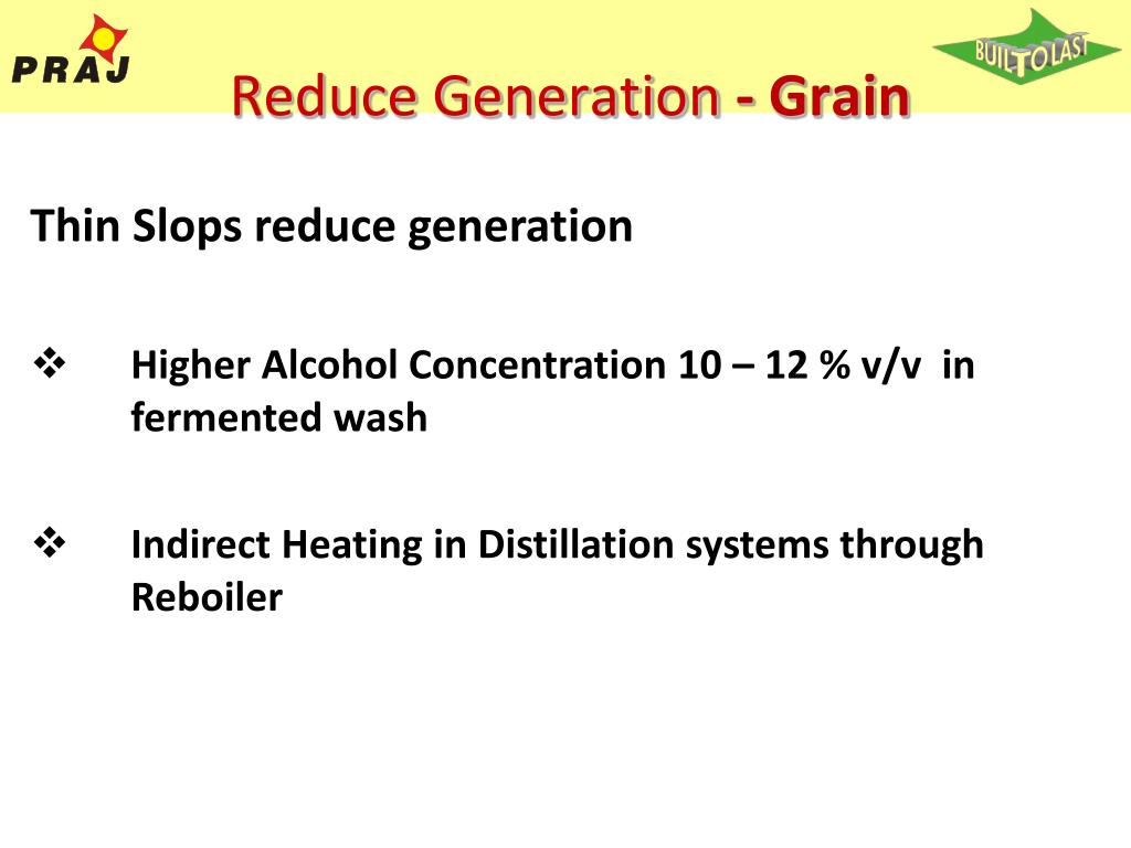 Reduce Generation