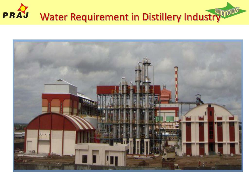 Water Requirement in Distillery Industry