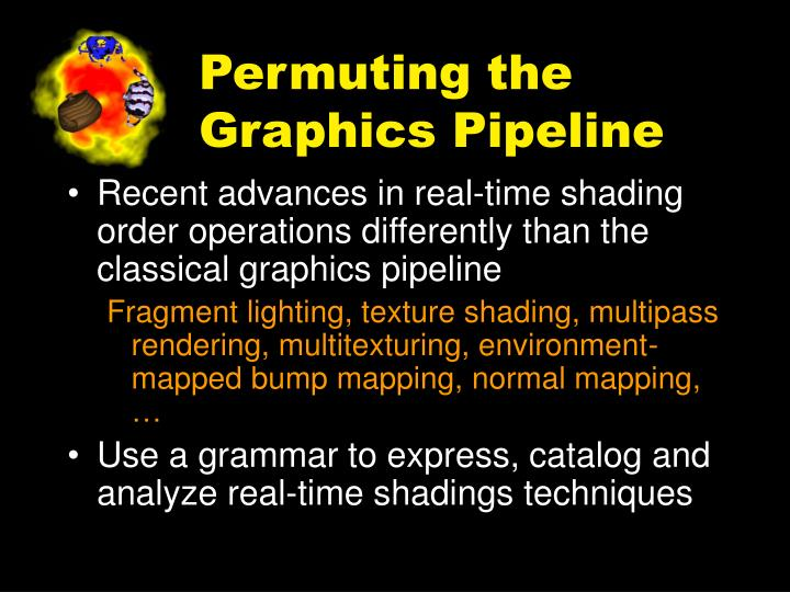 Permuting the graphics pipeline