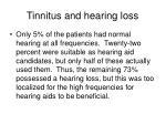tinnitus and hearing loss79