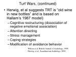 turf wars continued